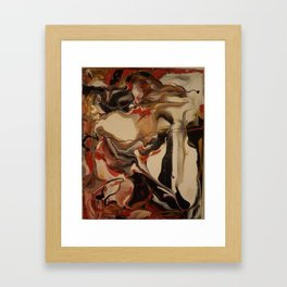 There's always a path Framed Art Print