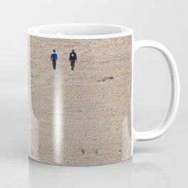 Dusty Road on Salar De Uyuni Coffee Mug