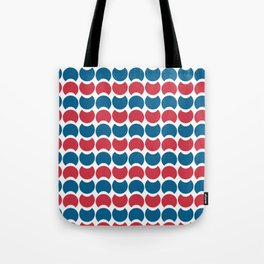 Hob Nob America Stripes Tote Bag