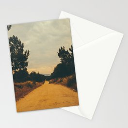 Vintage Faded Dusty Country Dirt Road Stationery Cards