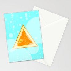 Orange Seltzer Stationery Cards