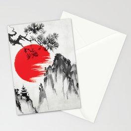 Japanese Landscape v4 Stationery Cards