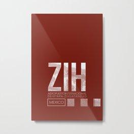 ZIH Metal Print