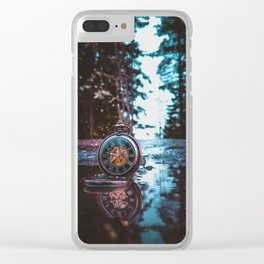 Time itself. Clear iPhone Case