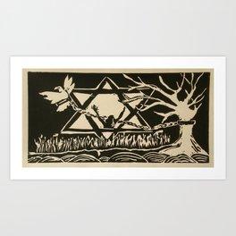 Captivation Art Print