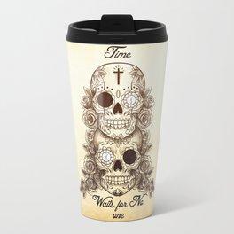 Time Waits For No One Travel Mug