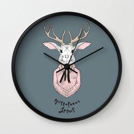 Epistolarus Lepus (brume) Wall Clock