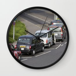London Taxis Heathrow Airport Wall Clock