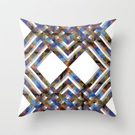 Nebula Criss Cross Stripe Throw Pillow