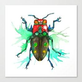 Beetle One Canvas Print