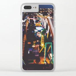 Santa Monica Pier Clear iPhone Case