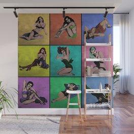 Pop Pin-Up Girls Wall Mural