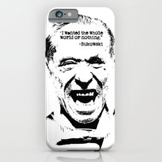 Charles Bukowski Quote World iPhone 6s Slim Case