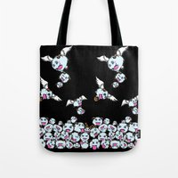 league of legends Tote Bags featuring League of Legends : POROS  by AngeltwoZion