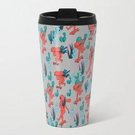 PICKING CACTUS -gray Travel Mug
