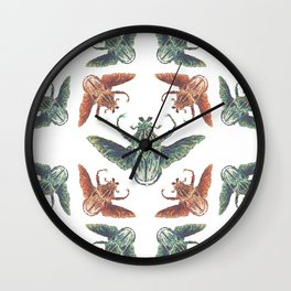 Elytra Wall Clock