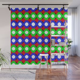 bubbles wrapped 3 Wall Mural