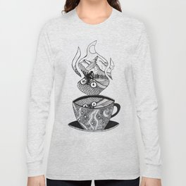 Dark Roast MTB Dreams Long Sleeve T-shirt
