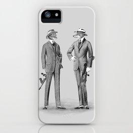 Mafia Animals iPhone Case