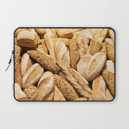 Bread baking rolls and croissants Laptop Sleeve