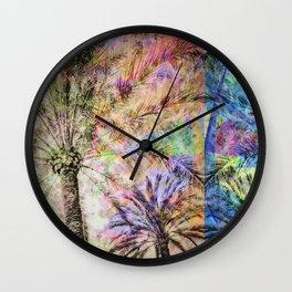 Tropicana Wall Clock