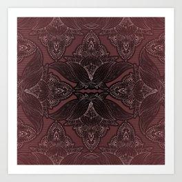 Flower Mandala 10 Art Print