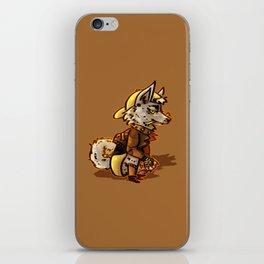 Doggo Punk iPhone Skin