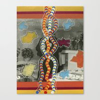 dna Canvas Prints featuring DNA by Naomi Vona