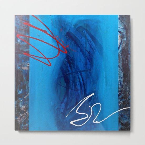 Blue Sin Metal Print
