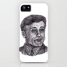 Hans Landa iPhone Case