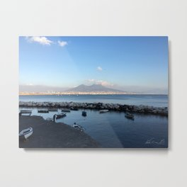 Picture of the Golfo di Napoli , Italy Metal Print