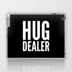 HUG DEALER (Black & White) Laptop & iPad Skin