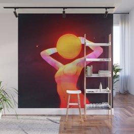 Sun Head (Remake) Wall Mural