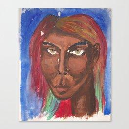 Watercolor portrait 1 Canvas Print
