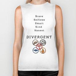 DIVERGENT - ALL FACTIONS Biker Tank
