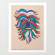 whacky wookie Art Print