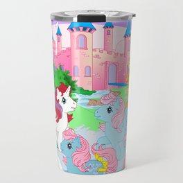retro g1 my little pony Dream Castle Travel Mug