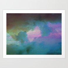 Imbue Sky Art Print