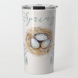 spring nest Travel Mug