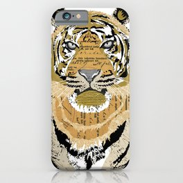 Tiger Collage iPhone Case