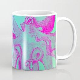 Pink Octopus Coffee Mug