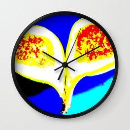 Big Fig Heart Wall Clock