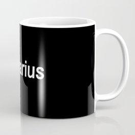 Aquarius (Black) Coffee Mug