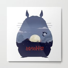 studio ghibli art Metal Print