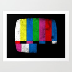 Test Pattern Art Print
