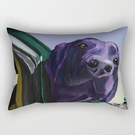 Where Are We Going Now? Rectangular Pillow