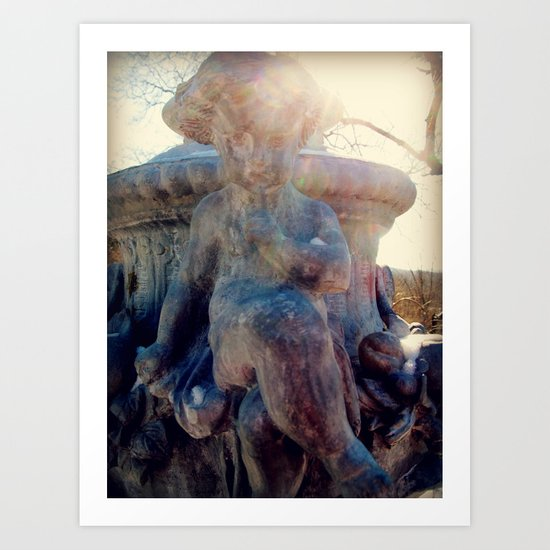 Angels of the Silences Art Print
