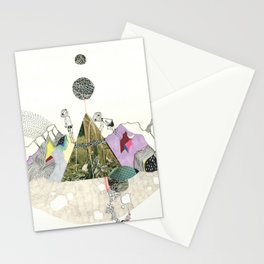 Climbers - Cool Kids Climb Mountains Stationery Cards
