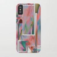 glitch iPhone & iPod Cases featuring Glitch by autumndellaway