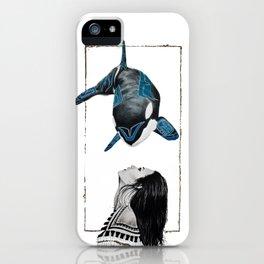 Haida Orca iPhone Case
